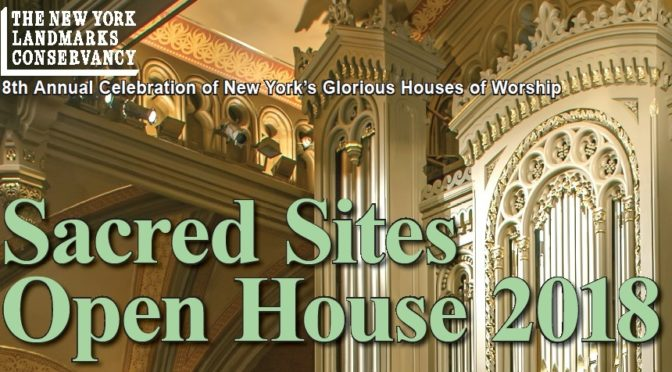 Sacred Sites Open House Saturday May 5, 10 am to 3 pm