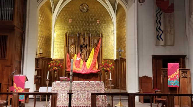 Day of Pentecost at Saint Luke's