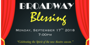 Broadway Blessing at St. Malachy Church