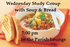 Study Group with Soup & Bread